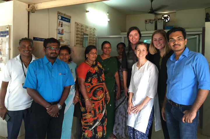 MPH student Abbey Roepke recently traveled to India where she learned about many exemplary models of care delivery throughout the southern state of Tamil Nadu.